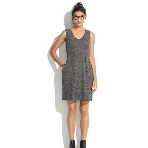 Madewell Small Terrace Sweater Knit Dress Tweed
