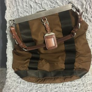 VINTAGE BROWN PRADA HANDBAG