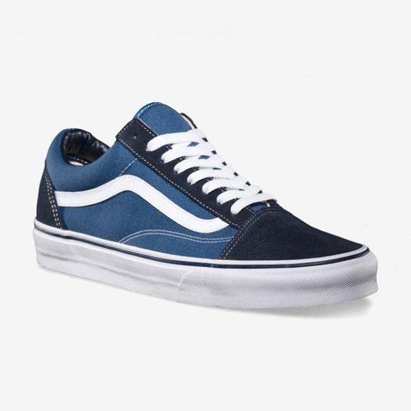 vans old skool blu navy