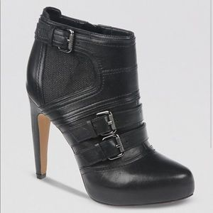 SAM EDELMAN KENLEY LEATHER ANKLE BOOTS