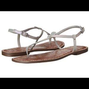 Iridescent Sam Edelman Thong Sandals