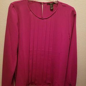 Hot pink junior top