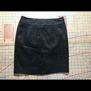 Cynthia Rowley leopard skirt size 4