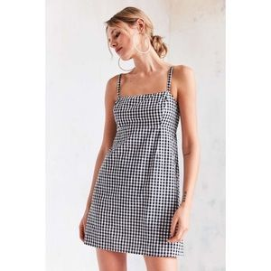 Urban Outfitters Gingham Black and White Dress