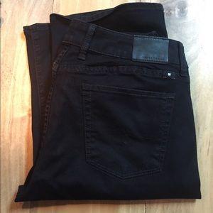 Lucky Brand Lolita Boot Black Jean 29R
