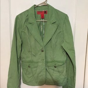 Cute green jacket from Target