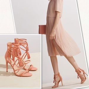 NWOB Aldo Catarina Heels with Tassels