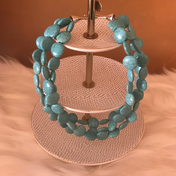 Stella & Dot Jewelry - Turquoise Sea Stella & Dot Necklace