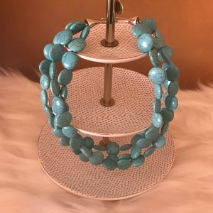 Turquoise Sea Stella & Dot Necklace