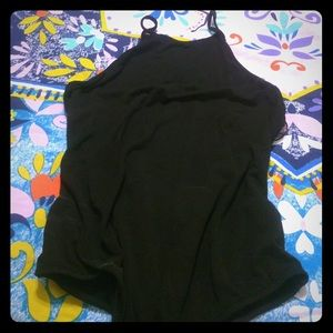 Tops - Black strappy bodysuit