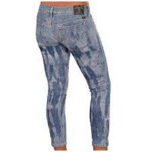 Lucky Brand sz 26 skinny zip ankle jean NEVER WORN