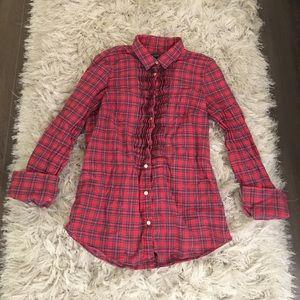 JCrew Plaid Shirt 😍