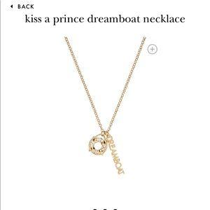 Kate Spade Kiss a Prince necklace