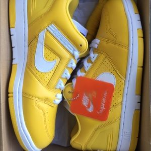 Supreme Shoes - Supreme Nike SB Air Force 2 Yellow Size 11 BNIB 4ca29f5c0