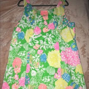 EEUC Lilly Pulitzer Cathy Shift Dress