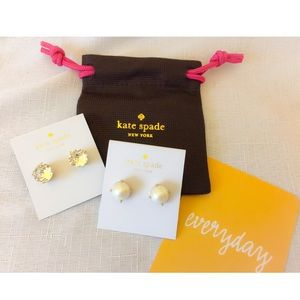 New Kate Spade Earrings/  Gumdrop Studs!!!
