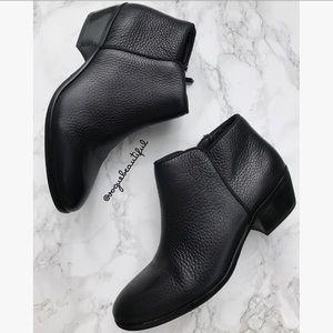 Sam Edelman Black Leather Petty Ankle Boots