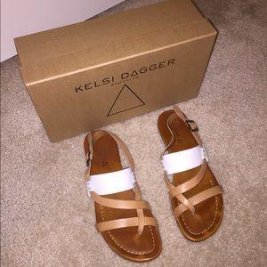 Kelsi Dagger leather sandals