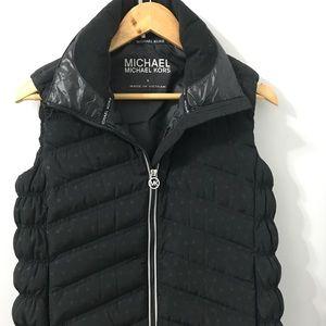 Michael Kors Black Puffer Vest  Size S
