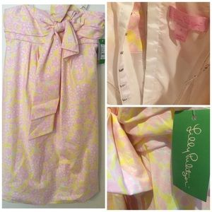 NWT Lilly Pulitzer Tierney Lemon Sorbet Dress 2