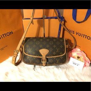 Authentic Louis Vuitton Sologne Crossbody bag