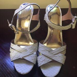 "White heel 4"" very comfortable!"