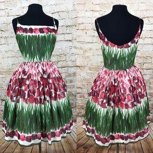 Anna Sui tulip rockabilly dress