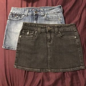 Dresses & Skirts - Two guess Jean skirts