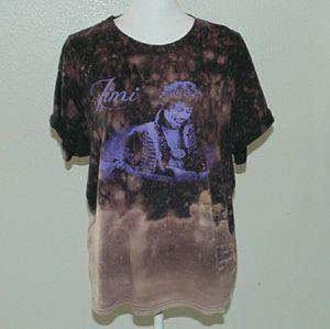 Jimi Hendrix acid wash T