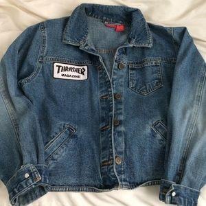 Thrasher jean jacket