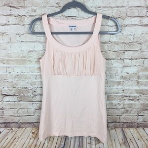 Express pink sleeveless tank top shirt size small