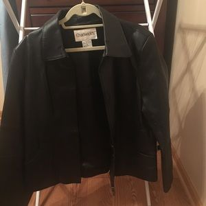 Chadwick's of Boston Black Leather Jacket