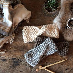 Knit Twist Headband