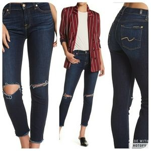 7 FAM Gwenevere Ankle Jeans size 32 🌟
