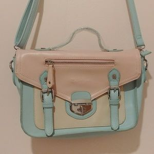 Pastel Colored Messneger Crossbody