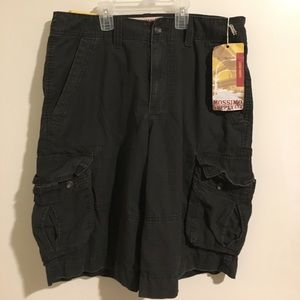 Mossimo supply low waste cargo shorts men
