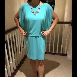 Jessica Simpson turquoise cutout dress 8