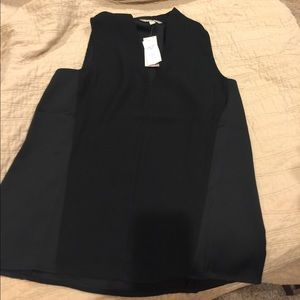 Black dress top.