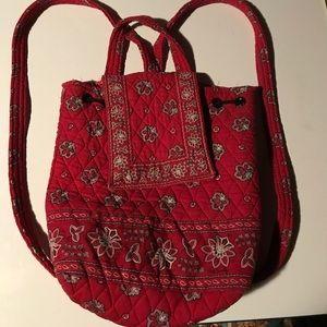 Vera Bradley backpack / tote