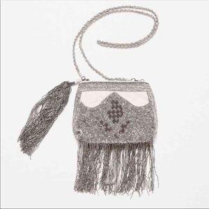 Zara Evening Fringe Bag. NWT
