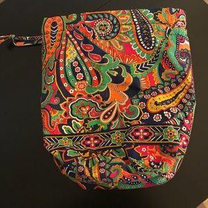 Vera Bradley Parisian Paisley dirty bag
