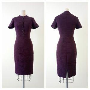 BURBERRY LONDON Short Sleeve Silk Dress Size US 2