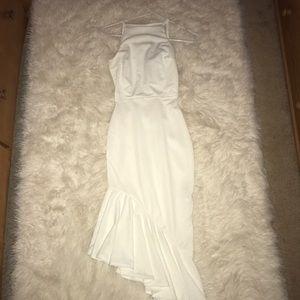Boohoo | White Midi dress