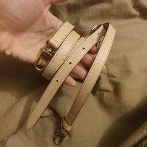 Louis Vuitton Vachetta Adjustable Crossbody Strap