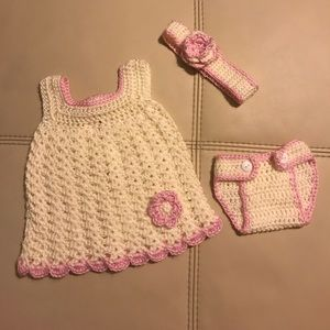 Other - Customized Crocheted matching baby set