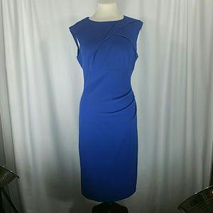 Arianna Papell Blue Cap Sleeve Dress size 14