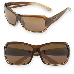 Used Maui Jim Palms 63mm PolarizedPlus2 Sunglasses