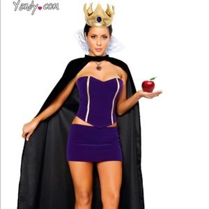 4pc Wicked Queen Halloween Costume