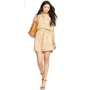 🛍Ralph Lauren Belted Small Shirt Dress🛍