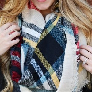 tan plus scarf